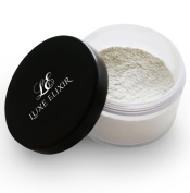 Setting Powder (02 Moonlight) - 20 gr - Premium Finishing Powder Foundation for Oil Control and Flawless Makeup - Perfect for Fair Skin Tone - Step-by-Step Setting Powder Guide Included