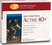 Neolife Nutritionals Active 40+ With Formula Iv Plus - Daily Vitality Pack
