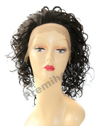 Lace Front Short Wig Curly Wavy Synthetic Wig - SCO Venus, 2