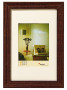 Walther Home HO824 A Wooden Frame, brown, 10 x 15 cm