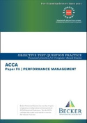 ACCA approved - F5 Performance Management (Sept 2016 to June 2017 Exams)