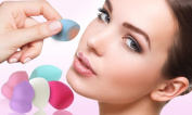 Pinky Makeup Sponge Blender - Latex free sponge for make-up blending, highlighting and contouring