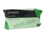 Proform Wash Cloth Wipes x 5 packs