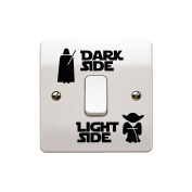 Star Wars Dark Light Side Switch Vinyl Decal Sticker