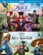 Alice in Wonderland/Alice Through the Looking Glass [Blu-ray]