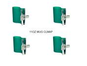 EDIY Brand 4Pcs/Lot 3D Sublimation Heat Press 330ml Mug Clamp Cup Mould