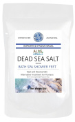 Alive Herbals Dead Sea Salt Fine Grain. 2.3kg 100% Pure and Certified. Natural treatment for psoriasis, eczema, acne etc.