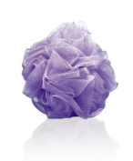 Thicker Bath Loofahs Mesh Pouffe Shower Lily Shower Sponge Ball Brush, Lilac Purple