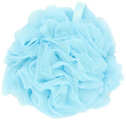 Thicker Bath Loofahs Mesh Pouffe Shower Lily Shower Sponge Ball Brush, Aqua Blue