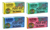 LOT of 6 Mr. Pumice Bar Healthy Skin Callus Feet Elbow Hands Pumi Bar Sponge