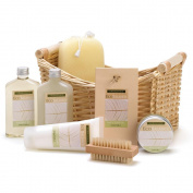 Western Outpost - LEMONGRASS EUCALYPTUS SPA BASKET