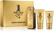 Paco Rabanne 1 Million Gift Set for Men - 100ml Eau de Toilette Spray+100ml Shower Gel+70ml Aftershave Balm