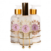Shelley Kyle Ballerine Three piece caddy with Lotion, Liquid Hand Soap and Ro...