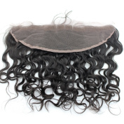 Atina hair Indian Wet and Wavy Lace Frontal Closure with baby hair ,natural hairline, Water wave human hair Lace frontals
