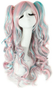 Meditative Rose Lolita Ponytails Long Curly Cosplay/Party/Costume/Carnival/Halloween/April Fool's Day/Masquerade Wig