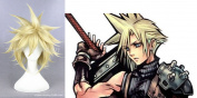MOOI Final Fantasy Cloud Strife Short Straight Wig Cosplay Costume Wig