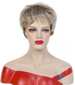 Beauty Smooth Hair Charm Short Kanekalon Natural as Human Hair Wigs 0431