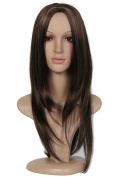 Beauty Smooth Hair Glamorous Natural as Real Long Straight Wig For Women 0712