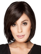 Attractive BOB Style Hand Tied Top Human Virgin Remy Capless Lady Hair Wigs