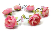 Nature Vines Garland Flower Crown Headband :S10