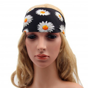 Acamifashion Cotton Stretch Headband Elastic Stretch Yoga Fashion Headband Hair Wrap