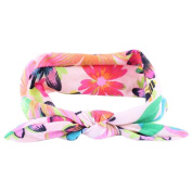 Academyus Girls Flower Printed Tuban Hair Band Accessories