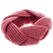Ewandastore Winter Warm Knitted Flower Headband Women's Crochet Head Wrap Loop Headgear Hair Band