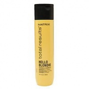 Matrix Total Results Hello Blondie Chamomile Shampoo, 300ml Pack of 2