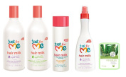 Just For Me 4pc Hair Care Set with Aloe Mask