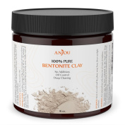 Clay Mask 470ml, Sodium Bentonite Clay Powder, Natural Organic Facial Mask for Oily Skin