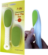 IBI Disposable Green Foot File Set with Replaceable Pad 10pcs