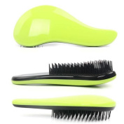 Coosa Hair Comb Brush - Glide Thru Detangler Hair Comb or Brush - No More Tangle - Adults & Kids - Green