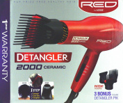 New Improved Detangler 2000 Ceramic Double Layer Pik Blow Dryer 1 year warranty