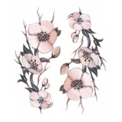 Creative/ Sexy Men And Women Temporary Waterproof Tattoos Stickers Flowers