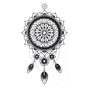 COKOHAPPY Temporary Tattoo , Dream-Catcher Floral for Men Women