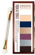 Kardashian Beauty Touch Tones Eyeshadow Palette ~ Smokin' Hot 119