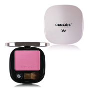 KIMUSE Soft Maquiagem Pressed Natural Face Blush Powder With Mirror Long Lasting Makeup Blusher Palette