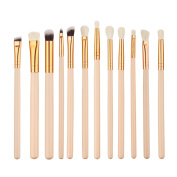 eshion 12pcs Makeup Brushes Cosmetic Powder Brush Contour High-light Eyebrow Eyeshadow Make-up Set