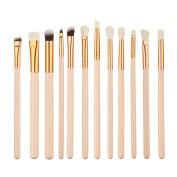 eshion 12pcs Makeup Brushes Cosmetic Powder Brush Contour High-light Eyebrow Eyeshadow Make-up Set