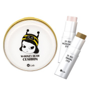 Pack of W.Lab Honey Beam Cushion 15g and 3D Face Highlighter & Shading Stick Set 11g