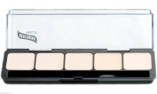 Ultra-Lites HD Glamour Creme Foundation Palette Graftobian 5 Shades New Makeup