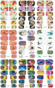 4 Sheets New Collection Water Transfer Full Nail Art Wraps