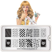 MoYou-London Nail Art Alice Plate Collection 03