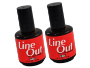 NSI Line Out Fill Line Eraser The first product in the world that erases and eliminates fill and repair lines. : Size 0.5 oz/15ml