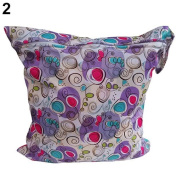 Baby Protable Nappy Washable Wet Dry Cloth Zipper Waterproof Nappy Bag