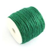 10m x Green Hemp 2mm Twine Cord - (Y04845) - Charming Beads