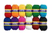 Colorations® Acrylic Yarn - Set of 12