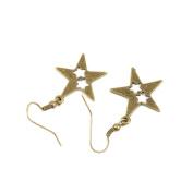 1 Pair Fashion Jewellery Making Charms Earrings Backs Findings Arts Crafts Hooks Bulk Lots Wholesale Supplier Z4MI5 Three Stars