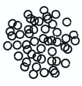 SNAPEEZ II ULTRAPLATE Black Velvet Matte Ring Hard Open Jump 8mm Heavy Gauge