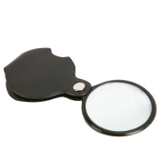 "Z ZTDM 8X 45mm(1.77"") Mini Pocket Folding High-definition Optical Glass Lenses Jewellery Identifying Magnifier Magnifying Glass"